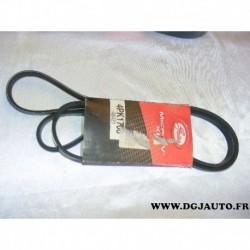 Courroie accessoire 4PK1708 pour toyota yaris daihatsu YRV sirion