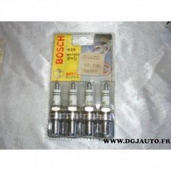 Blister 4 bougies allumage WR7DCX pour hyundai H1 H100 excel lantra pony santa fe satellite scoupe sonata starex trajet isuzu tr