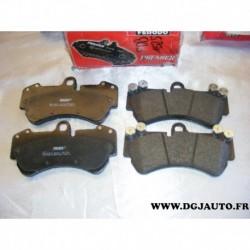 Jeux 4 plaquettes de frein avant montage brembo FDB1625 pour porsche cayenne 9PA 9PA1 volkswagen touareg