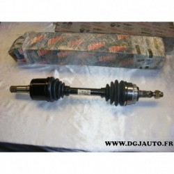 Cardan transmission avant droit 27/33 cannelures avec bague ABS 3331629 pour opel astra G zafira A 2.2DTI 2.2 DTI