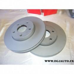 Paire disque de frein avant ventilé 278mm diametre 0986479173 pour volvo C30 C70 S40 V50 ford Cmax c-max focus 2