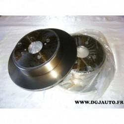 Paire de disque de frein arriere plein 279mm diametre 0986479149 pour toyota corolla 120