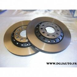 Paire disque de frein ventilé 310mm diametre DF4269 pour audi A8 volkswagen phaeton
