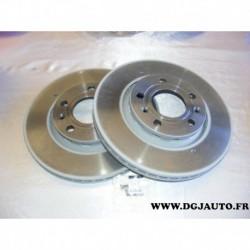Paire disque de frein ventilé 280mm diametre 09990821 pour audi A8 volkswagen phaeton