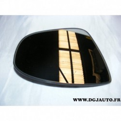 Glace miroir vitre retroviseur avant droit convexe 13258014 pour opel meriva B