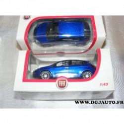 Fiat bravo 2 bleu voiture miniature 1/43eme dans sa boite d'origine