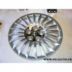 """Enjoliveur de roue jante 16"""" 16 pouces 156093715 pour alfa romeo giulietta partir 2010"""