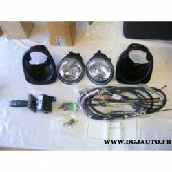 Kit complet phare antibrouillard avec support et comodo 9121708 pour opel movano A renault master 2