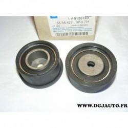 Galet enrouleur courroie distribution 9128740 pour opel astra F G combo 2 vectra B zafira A tigra corsa B 1.4 1.6 16V essence