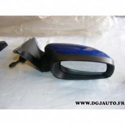 Retroviseur manuel avant droit coque bleue 84701-62J00-ZCG pour suzuki swift partir 2004