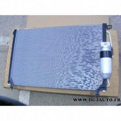 Radiateur condenseur climatisation avec bouteille deshydratante 24461360 pour opel omega B 2.5TD 2.5 TD