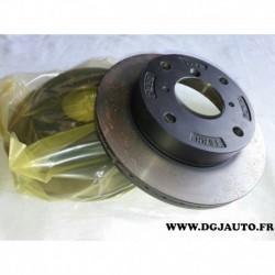 Paire disque de frein avant 231mm diametre ventilé 55311-80F02 pour suzuki alto swift 2 subaru justy 1.0 1.3