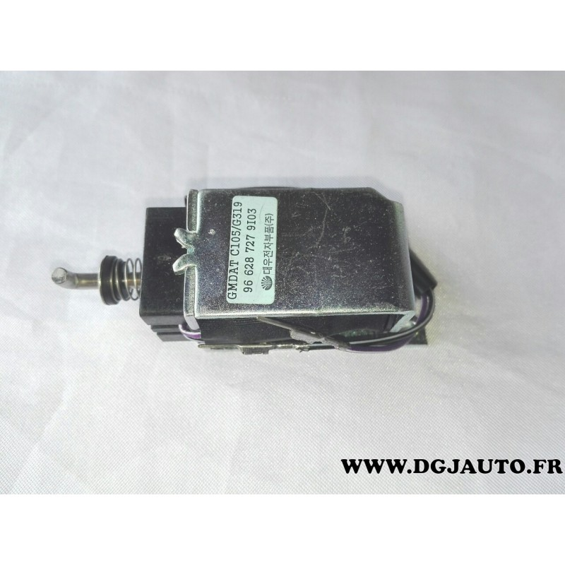 contacteur solenoide commande verrou selection de vitesse 96628727 pour opel antara boite. Black Bedroom Furniture Sets. Home Design Ideas