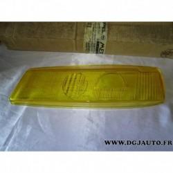 Verre vitre paupiere de phare jaune avant gauche 1217433 pour opel calibra