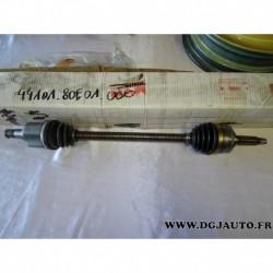 Cardan transmission avant droit 44101-80E01 pour suzuki swift alto 1.0 partir 1991
