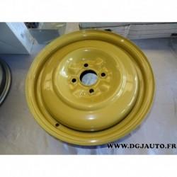 Jante tole peinte jaune 15x4 43290-60G10 pour suzuki aerio liana