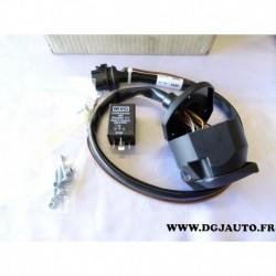 Faisceau electrique attelage attache remorque 13 poles specifique 9122116 pour opel movano
