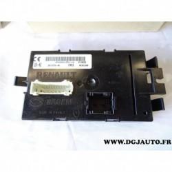 Module boitier electronique contrôle carrosserie centralisation fermeture porte 8200461556 pour renault trafic 2 opel vivaro A n