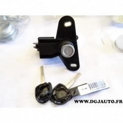 Barillet serrure malle de coffre bouton poussoir 90540626 pour opel vectra B berline