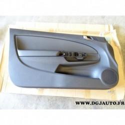 Panneau de porte garniture avant gauche 13232898 pour opel corsa D version 3 portes vitres electriques