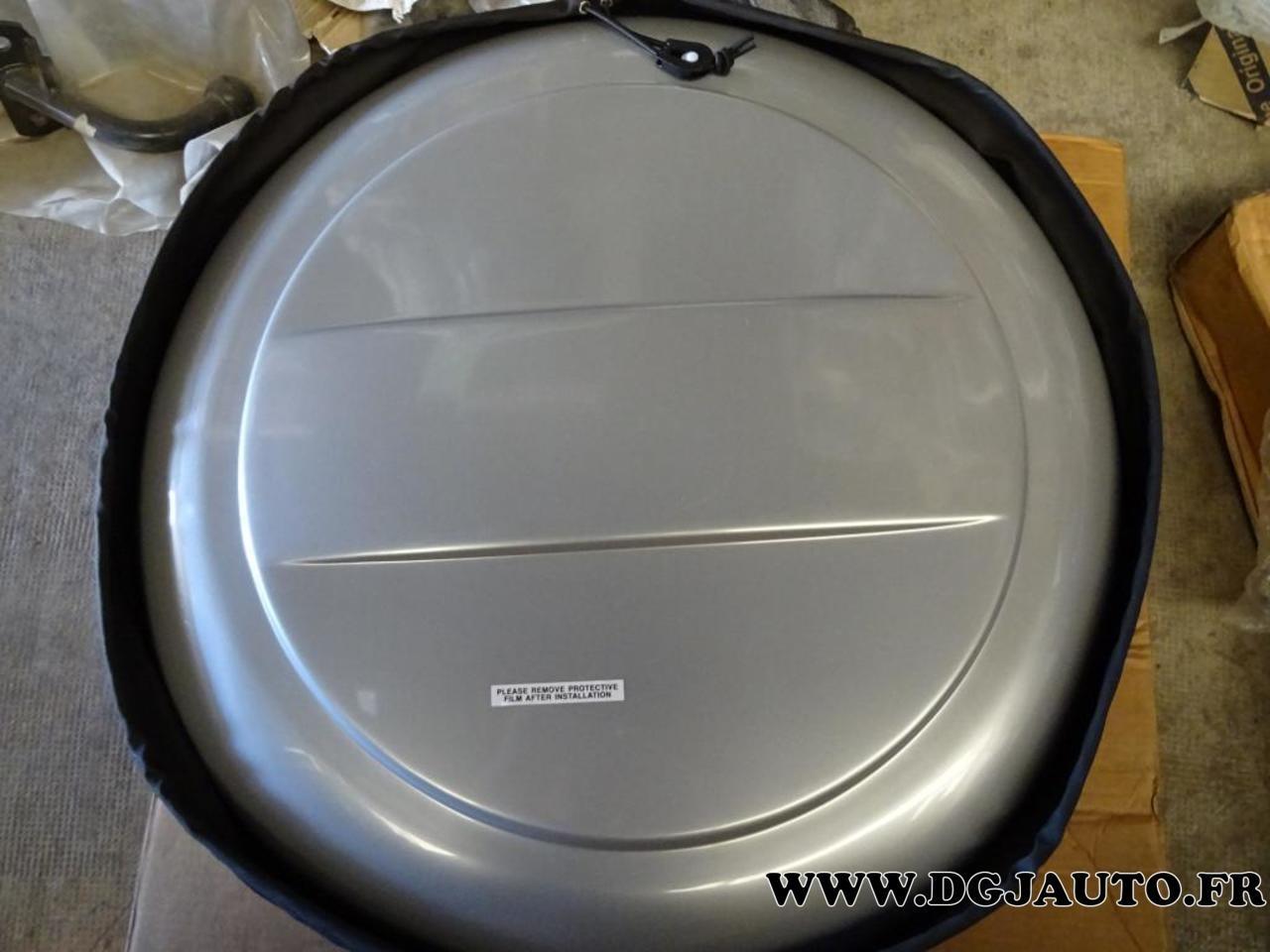 couvercle cache roue secours rigide 99000-990yb-740 pour suzuki grand vitara  - dgjauto