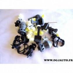 Kit pack agrafe tampon revetement isolant capot moteur 93198302 pour opel vivaro A renault trafic 2 nissan primastar