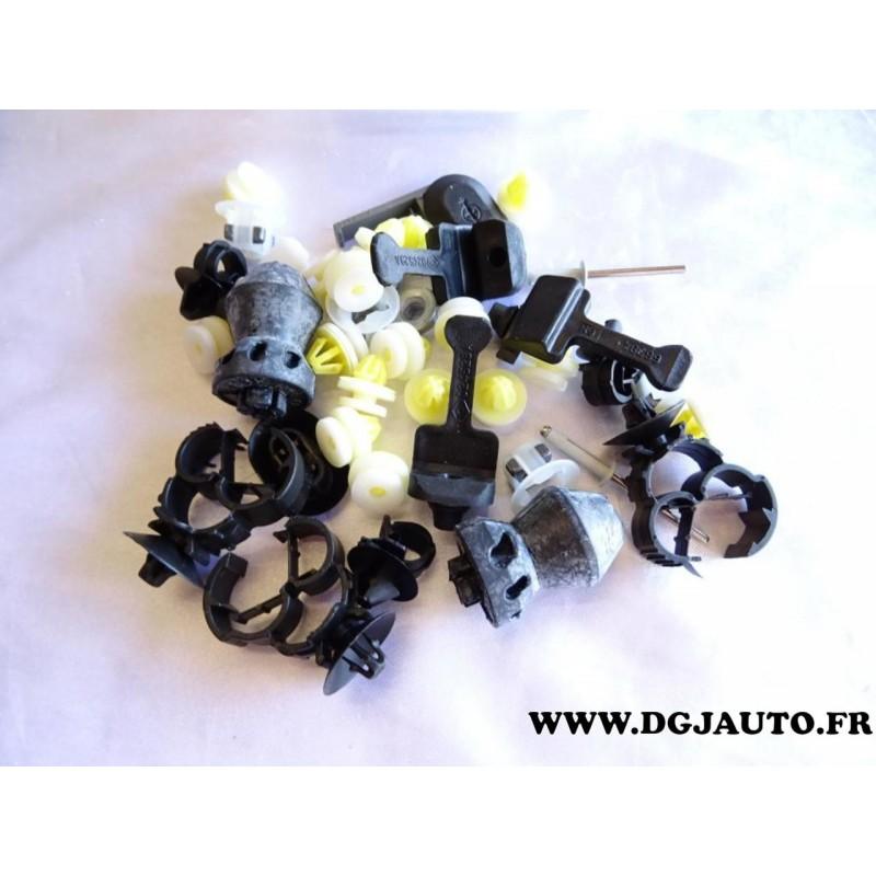 kit pack agrafe tampon revetement isolant capot moteur 93198302 pour opel vivaro a renault. Black Bedroom Furniture Sets. Home Design Ideas