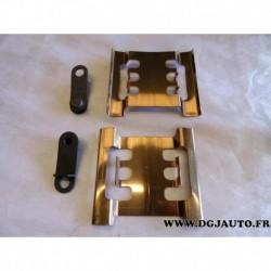 Kit platine collier arret plaquettes de frein avant 9161518 pour opel movano A renault master 2