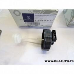 Bouchon avec capteur niveau bocal reservoir liquide de frein maitre cylindre 0004316733 pour mercedes vario 710 37 tracteur 800