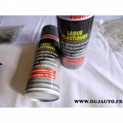Bombe laque speciale remise à neuf parechocs et element plastiques 400ML FZL foncé gris ouragan citroen
