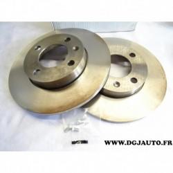 Paire de disque de frein avant diametre 239mm plein E169025 pour volkswagen golf 1 2 3 jetta 1 2 passat B1 B2 polo 2 3 santana s