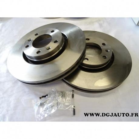 paire de disque de frein avant diametre 288mm ventil 1606400880 pour citroen xm serie 2 peugeot. Black Bedroom Furniture Sets. Home Design Ideas