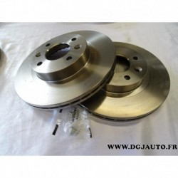 Paire de disque de frein avant diametre 259mm ventilé E169029 pour renault 18 25 R18 R25 espace 1 2 fuego alpine GT D500