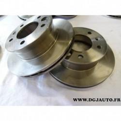 Paire de disque de frein avant diametre 276mm ventilé 1606315980 pour mercedes sprinter W901 W905 volkswagen LT28 LT32 LT35 LT46