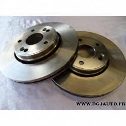 Paire de disque de frein avant diametre 280mm ventilé 1606321480 pour renault laguna 2