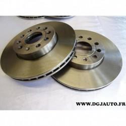 Paire de disque de frein avant diametre 288mm ventilé 1606321780 pour volkswagen beetle caddy 3 4 eos golf 5 6 7 jetta 3 4 5 sci
