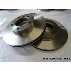 Paire de disque de frein avant diametre 286mm ventilé 1606313980 pour BMW E36 E46 serie 3