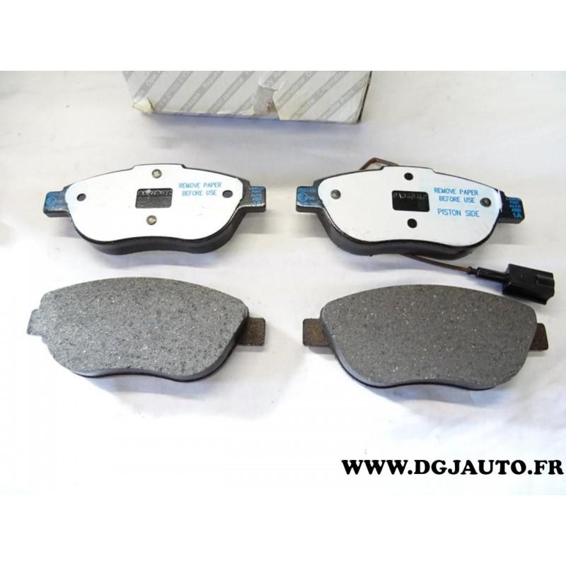 Jeux 4 Plaquettes De Frein Avant Montage Bosch 71754803 Pour Fiat Bravo 2 Doblo 3 Liena Idea