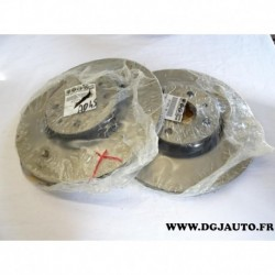 Paire disque de frein avant ventilé 284mm diametre 71772274 pour fiat bravo 1 2 coupé croma doblo idea linea marea stilo alfa ro