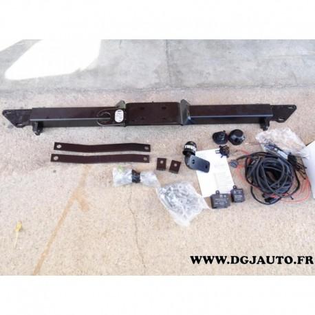 Attelage attache remorque avec faisceau 7 poles multiplexé 482401 pour fiat ducato 3 citroen jumper peugeot boxer chassis benne
