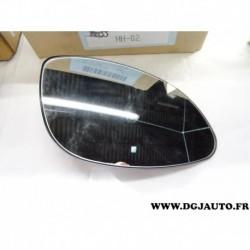 Glace miroir vitre convexe retroviseur avant droit 90568350 pour opel vectra B