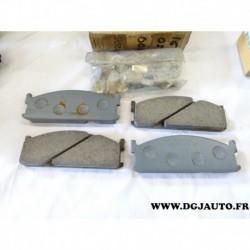 Jeux 4 plaquettes de frein montage sumitomo 97078457 pour isuzu opel GME bedford midi