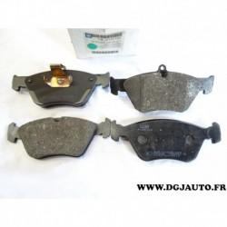 Jeux 4 plaquettes de frein montage ATE 9192123 pour opel calibra omega B vectra A saab 900 dont V6