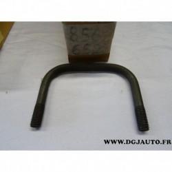 Etrier arceau fixation tuyau echappement tube primaire 90325487 pour opel vectra A astra F 1.7D 1.7 D