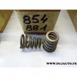Lot 2 ressorts fixation tuyau tube echappement 90128079 pour opel ascona C vectra A B corsa A B tigra A kadett E