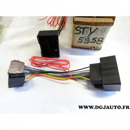 faisceau cable branchement poste radio autoradio sty5858 pour opel au meilleur prix sur. Black Bedroom Furniture Sets. Home Design Ideas