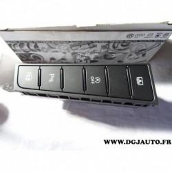 Platine bouton commande eco start radar recul assistance 3AB927238BLWHS pour volkswagen passat dont CC partir 2009