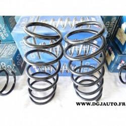 Paire de ressort amortisseur avant 22150 pour renault clio 1 et lutecia 1.8 essence 1.9D 1.9 D diesel