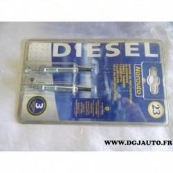 Blister de 2 bougies préchauffe n°23 166696 pour opel astra F TDS moteur isuzu corsa A TD