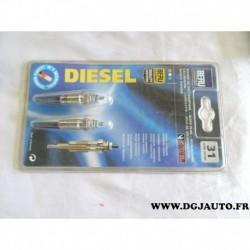 Blister 2 bougies de préchauffe 0900102052 pour renault clio 1 2 express megane dont scenic 1.9D 1.9 D diesel
